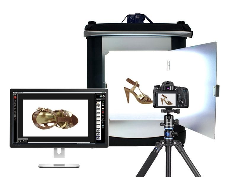 Take Product Shots Faster with computer control camera control