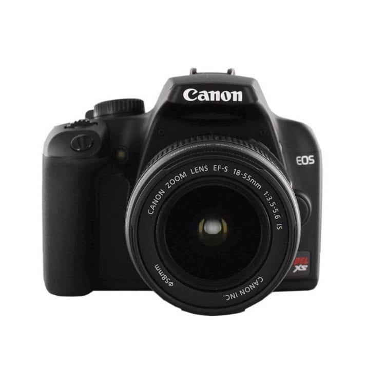 canon XS Camera Spherical Product Photography Example