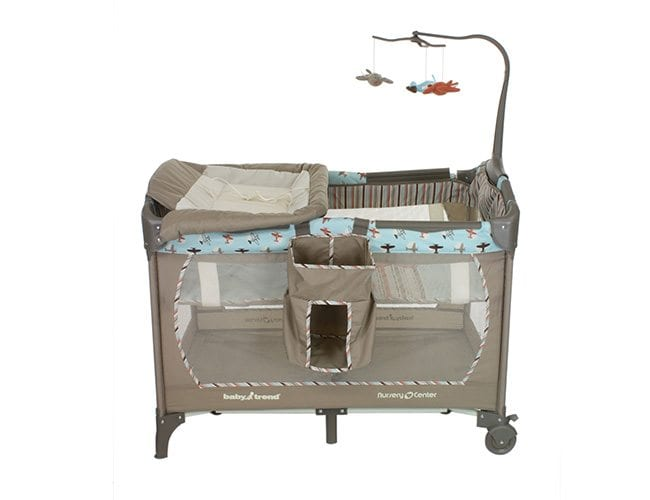 Baby play pen crib product photography solutions