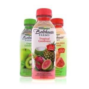 Bolthouse farms tropical goodness and other juices taken for beverage product photography example