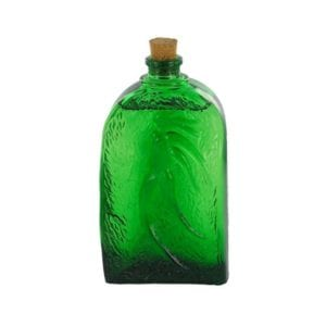 Green Liquid Glass Container for product photography examples
