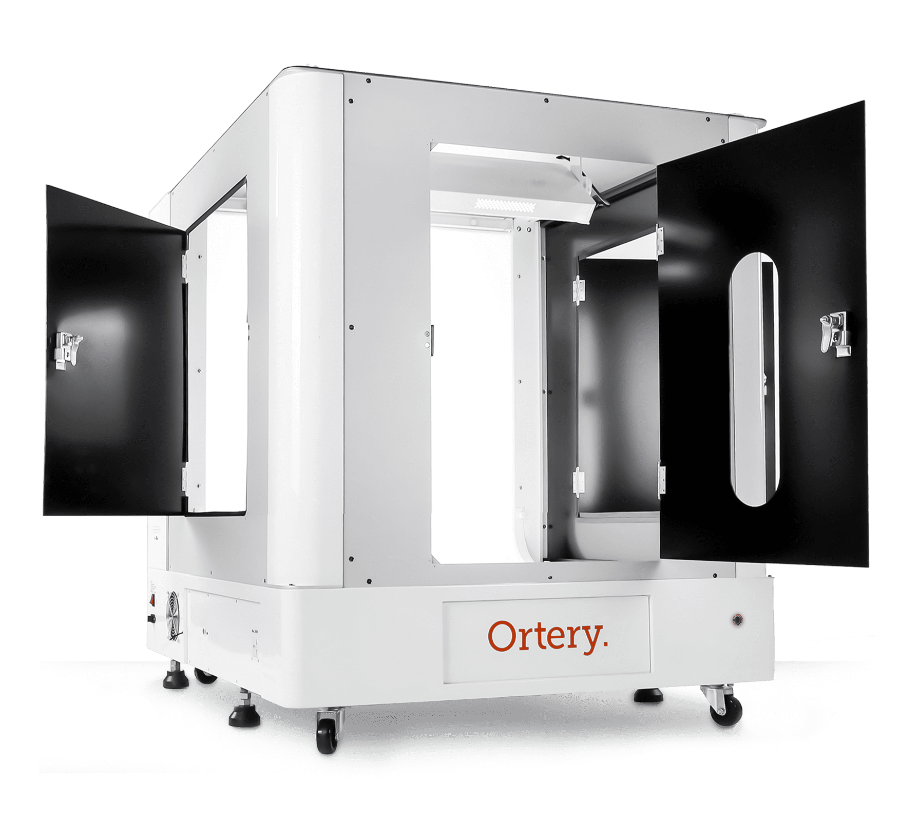 Ortery 3D PhotoBench 280 - Product Photography Solution with transparent, bottom lit 360 turntable