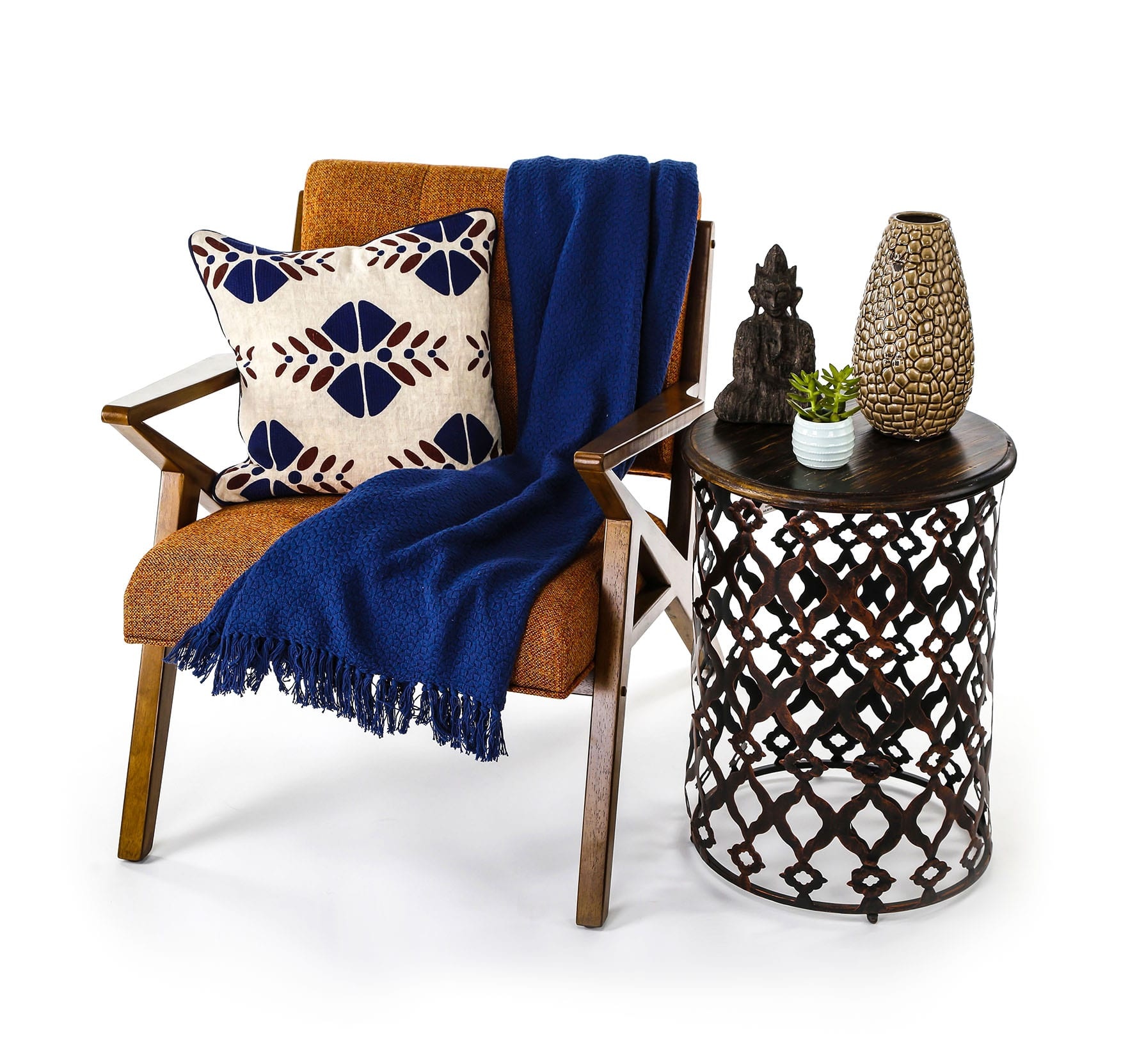 Home & Decor product photography - Chair and Sidetable Example