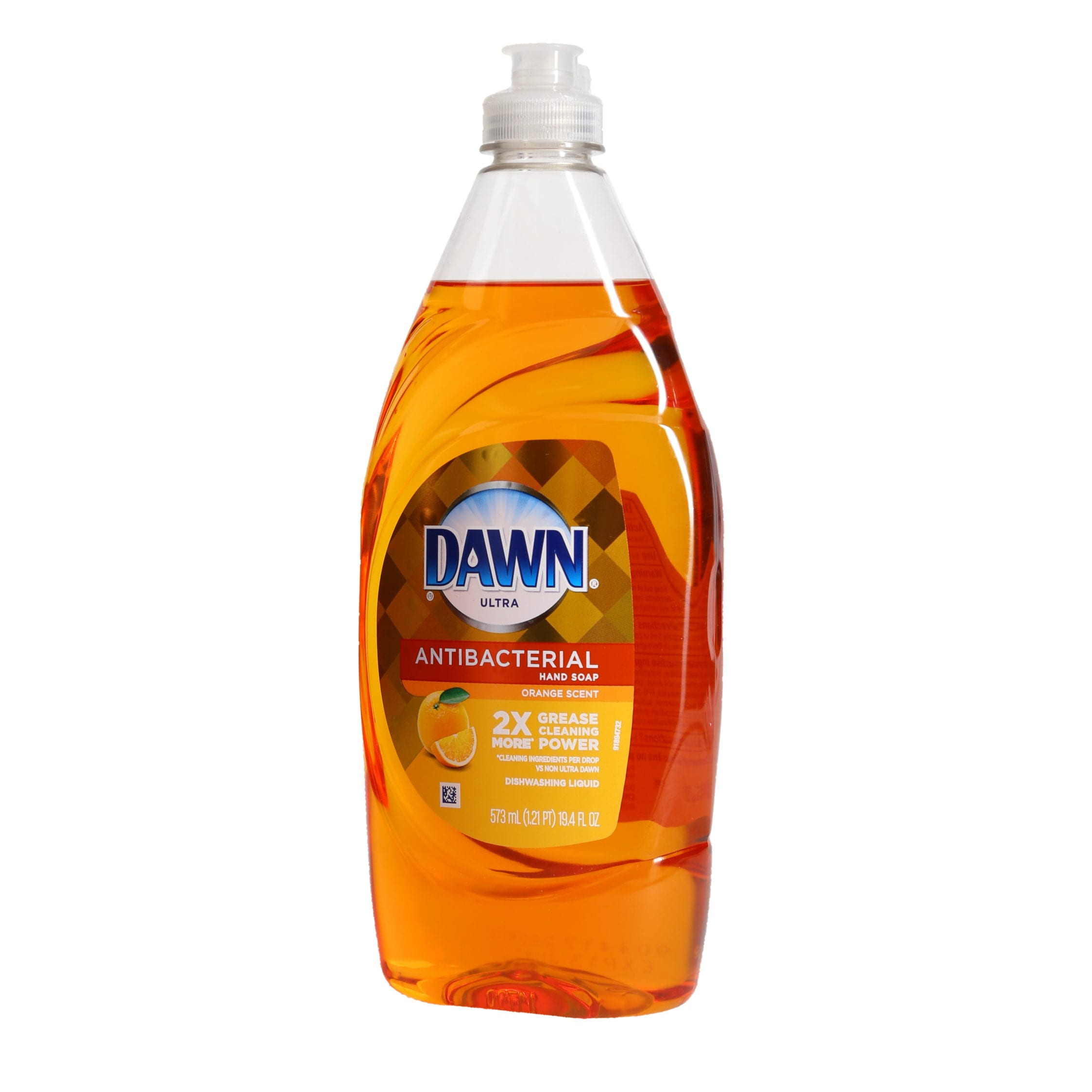 Ortery photography example grocery product dawn soap shot on pure white background