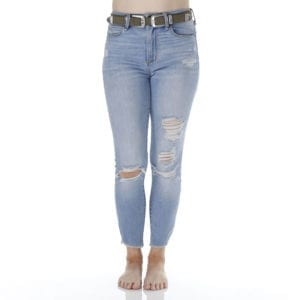 Jeans photography example taken with Ortery LiveStudio
