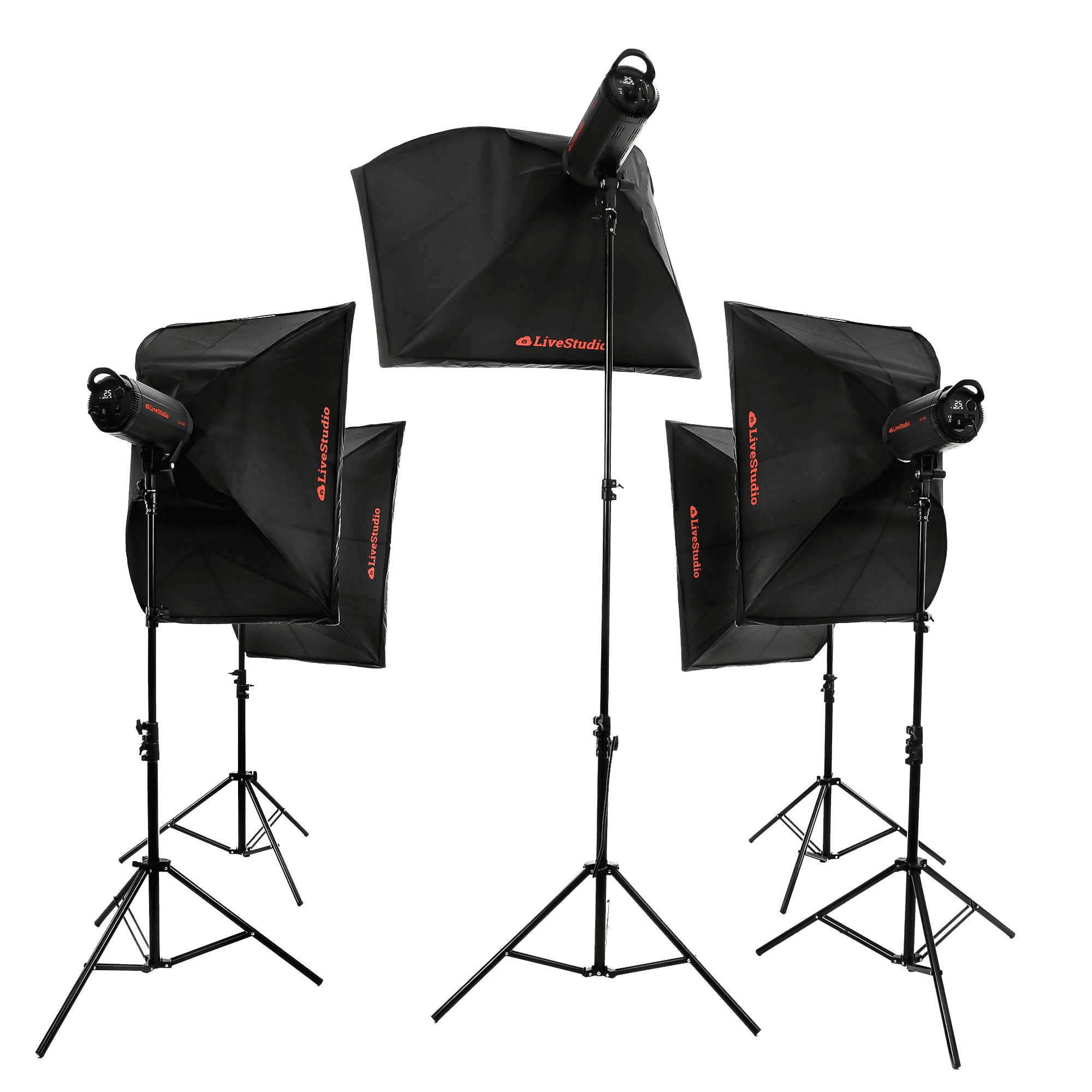 Ortery LiveStudio -5 light product photography kit and software