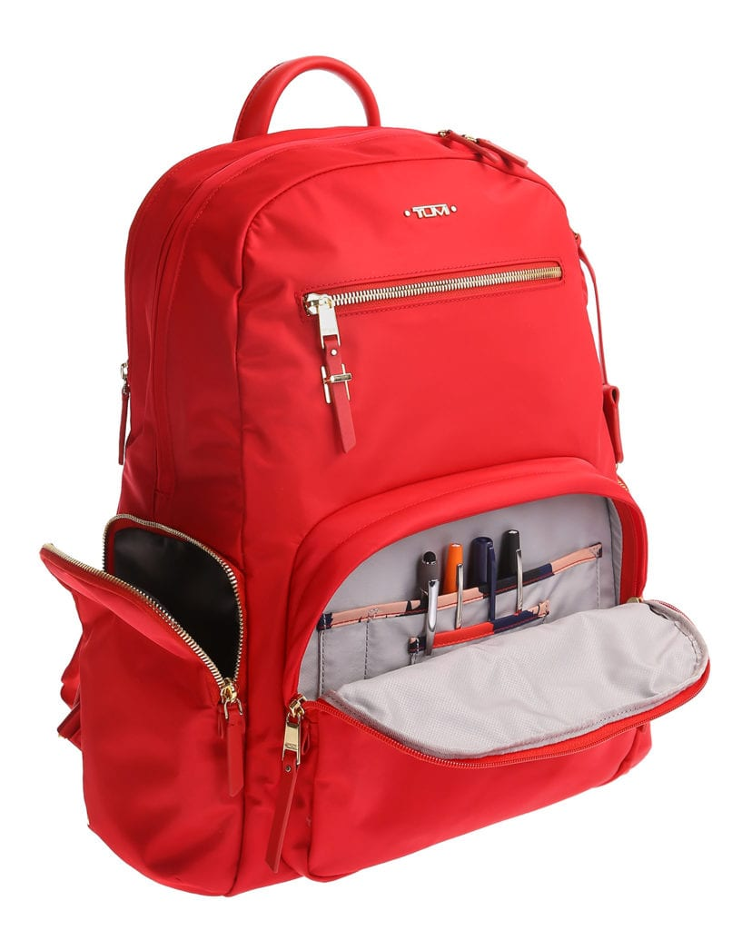 Ortery product photography solutions example on pure white - Tumi Bag