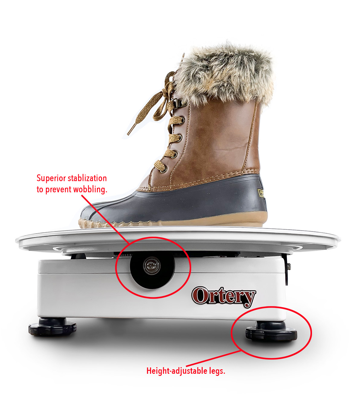 ortery-photocapture-360-small-product-photography-turntable-boot copy