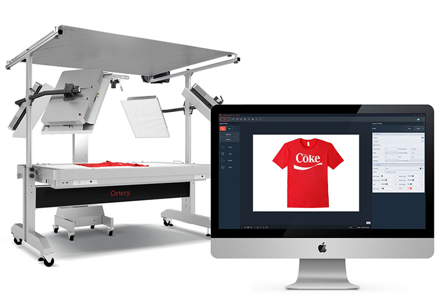 Ortery large flat-lay clothing photography systems