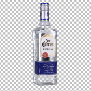 Clear Bottle Tequila Wine Glass 360 Example